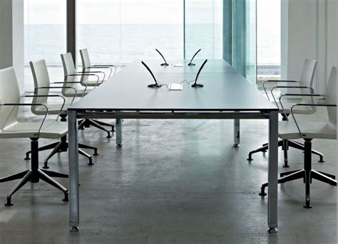 White Boardroom Table White Boardroom Table Glass Or Laminate Rectangular Vitalis
