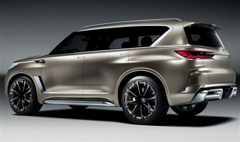 pictures of infiniti suvs infiniti qx80 monograph concept will it go to production