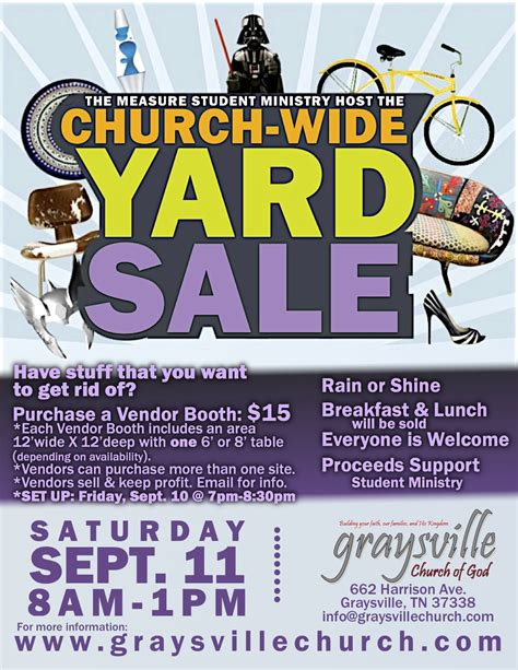 yard sale flyer template 301 moved permanently
