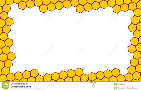 honeycomb pattern frame honeycomb clipart border pencil and in color honeycomb