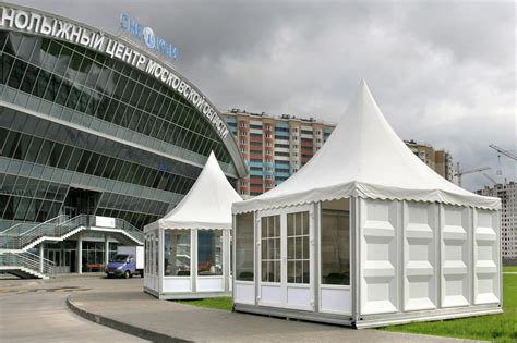 mobiler pavillon leasing of pavilions non living premises fast erectable