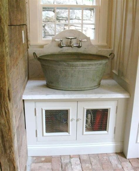 rustic laundry room country mudrooms pinterest perfect mud room sink love this so rustic looking home