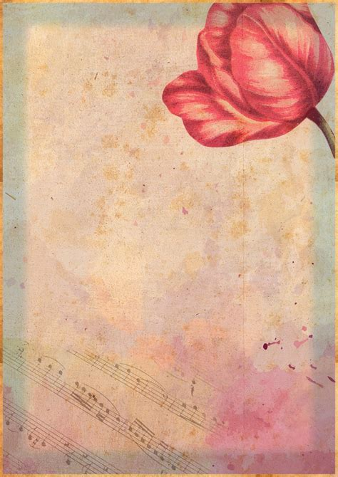 Decoupage Using Wallpaper - papeles vintage gratis para scrapbooking decoupage y