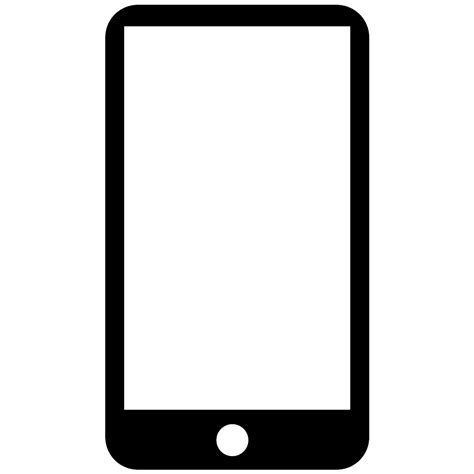 mobile phone icon font mobile phone svg png icon free 91044