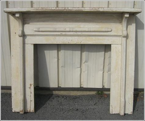 fireplace mantel cottage style
