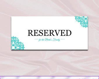 Reserved Tent Card Template by Reserved Table Cards Template 28 Images Reserved Table