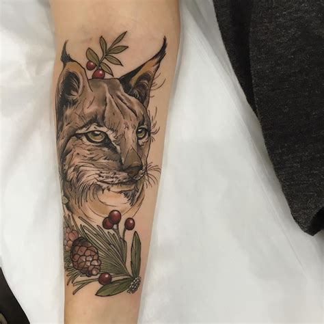 cheer tattoos spirit animal lynx for maeve from enjoy sydney