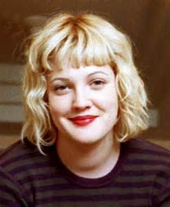 Drew barrymore s hair evolution from e t to big shot hollywood