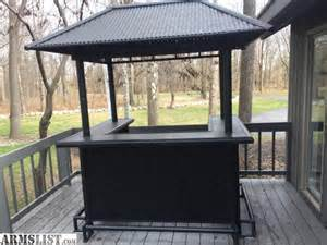 armslist for sale tiki bar with chairs