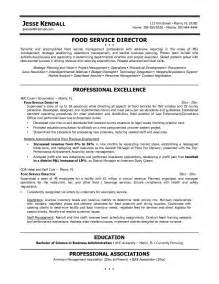 food service resume resume professional associations best resume exle