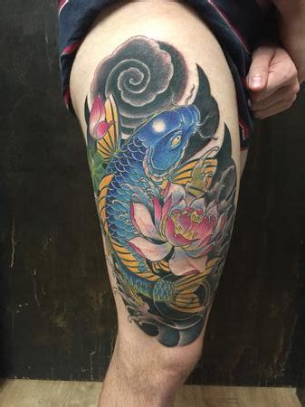mystic koi tattoo mystic eye