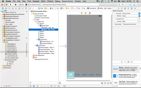 layout ios xcode ios xcode auto layout constraints not working using