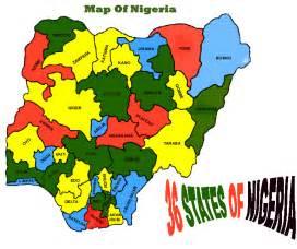 Map Of Nigeria States by Map Of Nigeria Federal Republic Of Nigeria Maps Mapsof Net