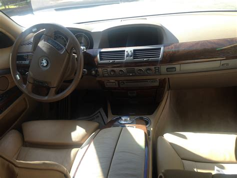Bmw 745i Interior by 2002 Bmw 7 Series Interior Pictures Cargurus