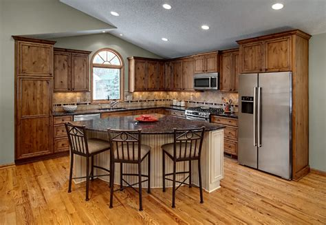 triangle kitchen island with seating