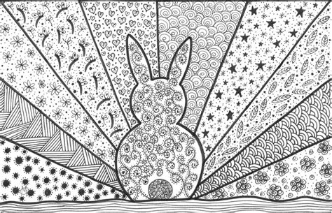 coloring pages for adults bunny canadian freebies printable colouring pages for adults