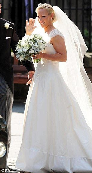 braut auf englisch zara phillips wedding dress quintessential english bride