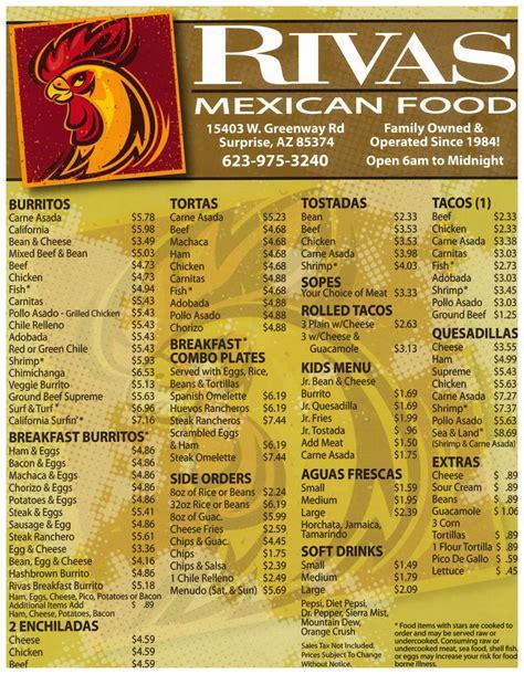 menu cuisine az rivas food 22 photos 88 reviews