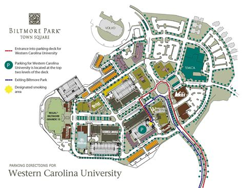 map of western carolina western carolina directions and parking