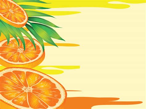 Orange Juices Powerpoint Templates Food Drink Orange Free Ppt Backgrounds And Templates Orange Powerpoint Template