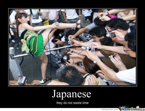 Asian Photographer Meme - japanese people dont waste time by rayosbute meme center