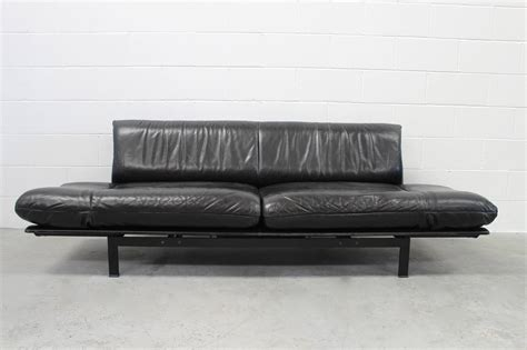 chaise com de sede quot ds 140 quot large sofa or chaise with tables in black