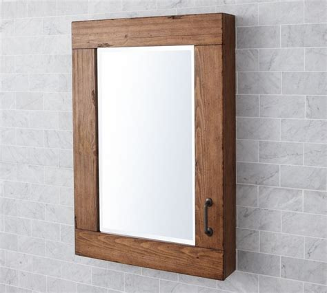 wood medicine cabinets with mirrors for bathroom useful