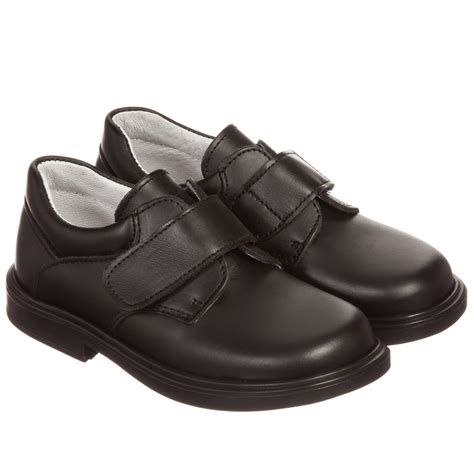 velcro shoes children s classics boys black leather velcro shoes