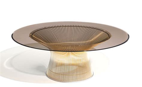 Platner Coffee Table Platner Gold Plated Coffee Table 36 Quot Dia Hivemodern