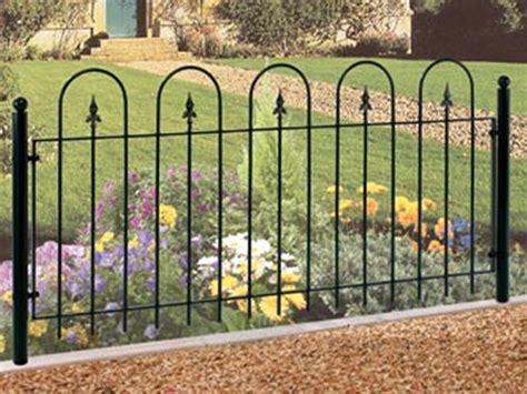 modern wrought iron garden fence jbeedesigns outdoor