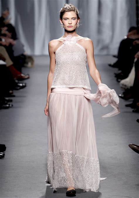 Spring 2011 Couture Fashion Shows Style | fashionistas daily com chanel spring 2011 couture show