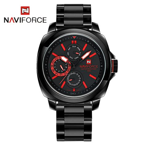 mens watches 2016 new naviforce steel wrist watches for