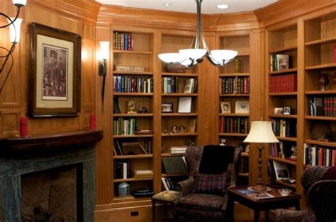 Library Room For Cool Living Library Living Room San Francisco By