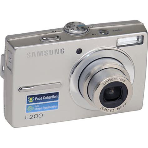 Kamera Samsung Pl120 samsung l200 digital silver ec l200zsba us b h photo