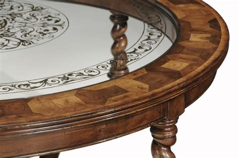 High End Furniture Round Oval Coffee Table High End Coffee Table