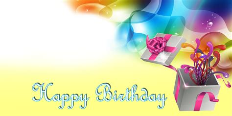 Banner Happy Birthday happy birthday banner yellow gift vinyl banners