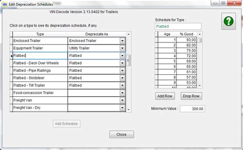 express software production vin decode support pages - Boat Depreciation Table
