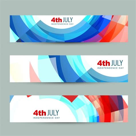 day banners free independence day banners vector free