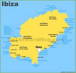 Ibiza Spain Map by Ibiza Maps Balearic Islands Spain Map Of Ibiza