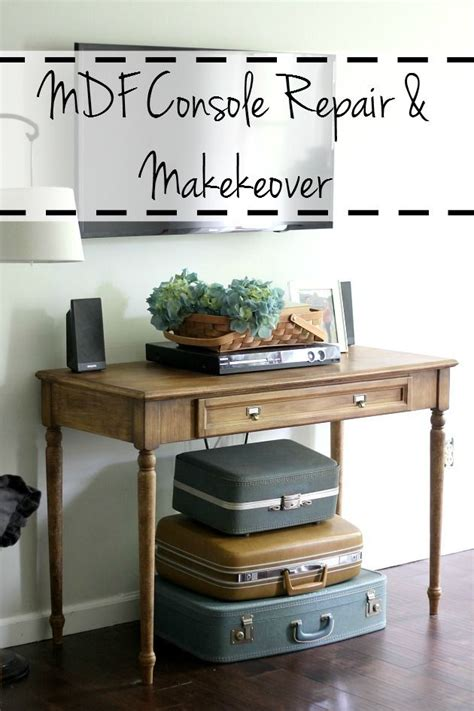chalk paint on mdf how to repair mdf furniture and create a faux wood paint
