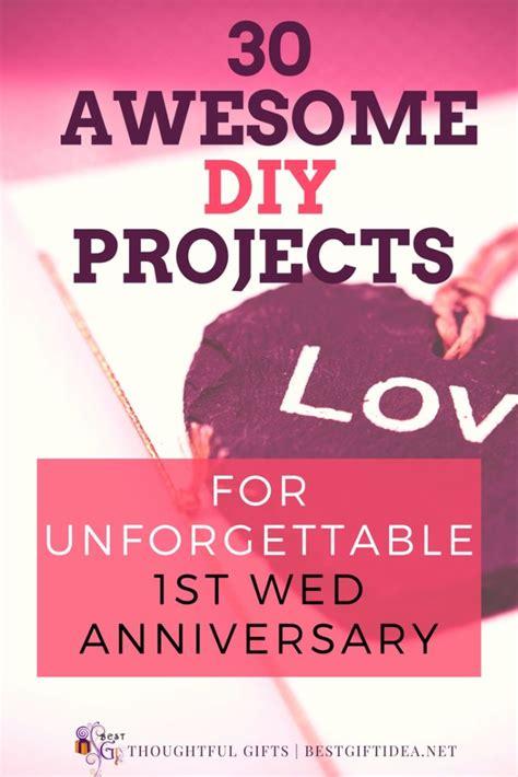 1st Wedding Anniversary Ideas To Make by Best Gift Idea Wedding Anniversary Gift To Make 30