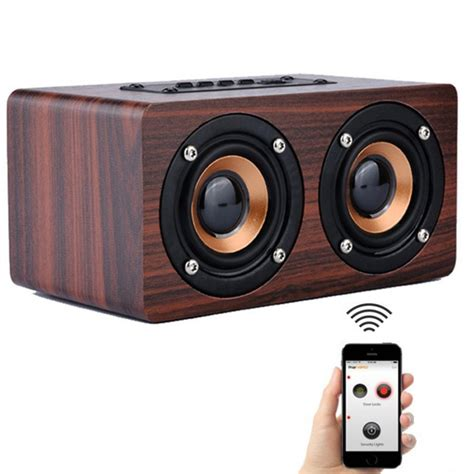 Speaker Simbadda Mini Dual O aliexpress comprar retro de madera altavoz bluetooth wireless hifi altavoz dual 3d surround