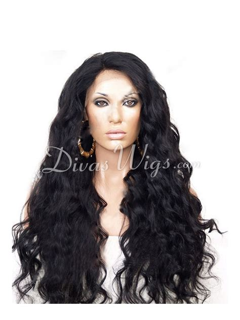 Wig Wavy beautiful wavy lace human hair wig wc035 shop by hairstyle divaswigs