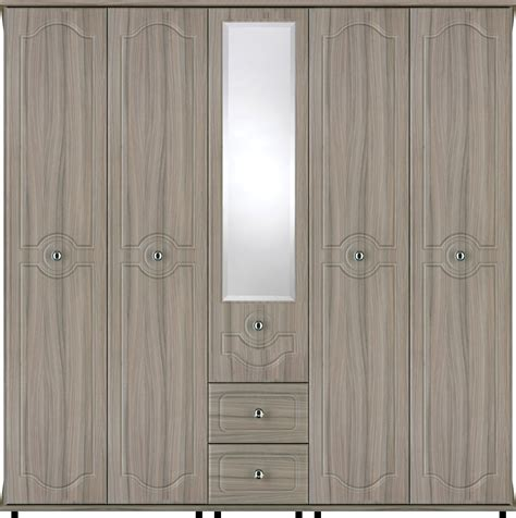 5 door wardrobe bedroom furniture bledlow 5 door wardrobe with 1 mirror and 2 drawers