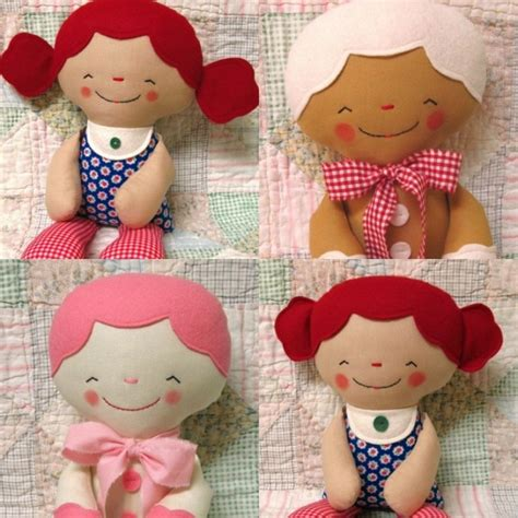 pinterest pattern doll softie pattern for soft plush doll or gingerbread man