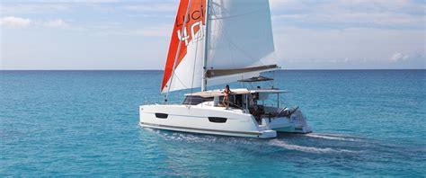catamaran boat catamarans sailboat lucia 40 fountaine pajot