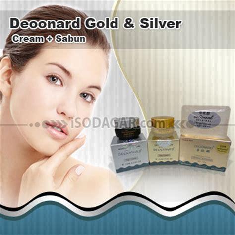 Krim Wajah Deoonard deoonard gold silver sabun krim penghilang