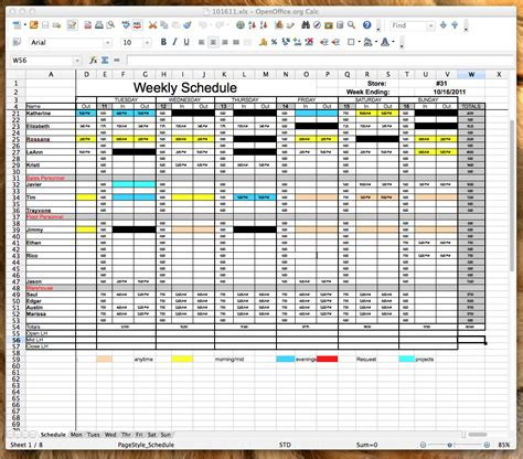 open office spreadsheet templates spreadsheets