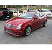 2011 Crystal Red Tintcoat Cadillac CTS  V Sedan 39943729