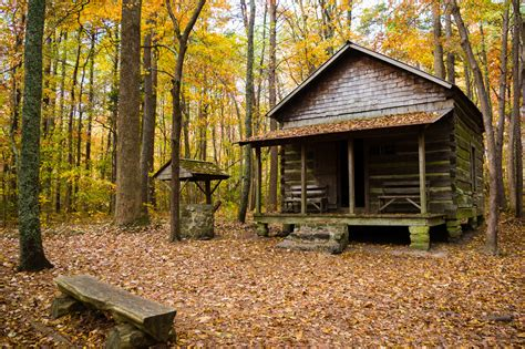 The Cabin In The by Get Your Winter Hike On At County Nature Trail On